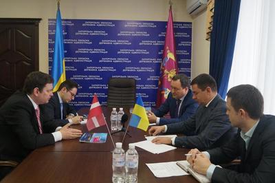 Запорожская область будет сотрудничать с Латвией