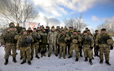 Привітання Президента з 25-ю річницею створення Збройних Сил України!