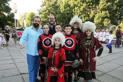Приморськ відзначив День міста багатонаціональним святом