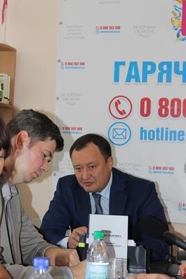 Костянтин Бриль - на зв'язку з жителями Запорізького краю